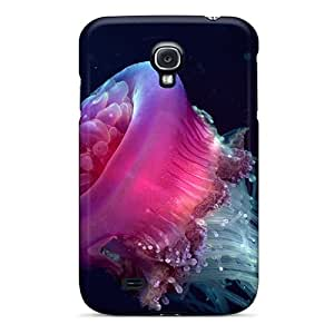 Series Skin Case Cover For Galaxy S4(animals Pink Medusa)