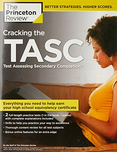 Cracking the TASC (Test Assessing Secondary Completion) (College Test Preparation)