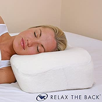 Image of Relax The Back Memory Foam Side Sleeper Contour Pillow