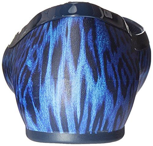Marine Linashinyflat Bleu bleu Femmes Ballerines Femmes Marine Bleu Crocs Linashinyflat 01P4wWqa