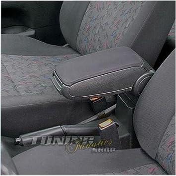Farbe: SCHWARZ Mittelarmlehne // Mittel-Armlehne mit klappbarem staufach // Mittel-konsole Bezug: Stoff//Textil Fahrzeugspezifisch