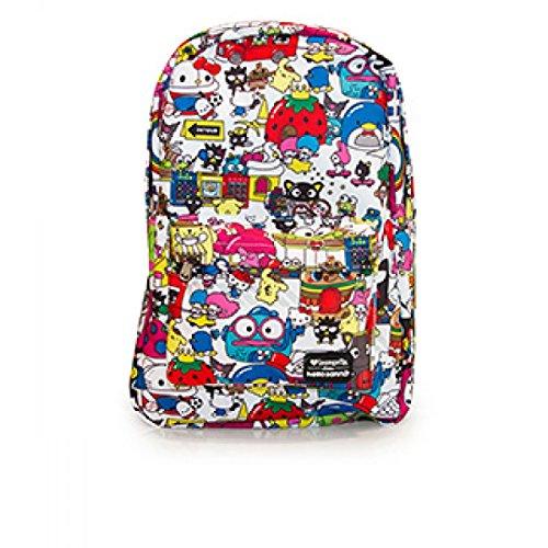Loungefly Hello Kitty Sanrio Backpack Multi (Keroppi Kitty Hello)