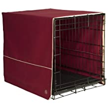 Pet Dreams 42 by 28-Inch Classic Crate Cover, X-Large, Burgundy