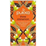 Pukka Organic Herbal Tea Three Cinnamon -- 20 Tea Bags