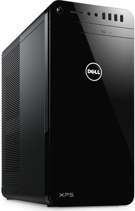 Dell XPS 8930 Desktop PC - Intel Core i7-8700 3.2GHz, 32GB, 1TB HDD + 16GB SSD, GeForce GTX 1060 6GB Graphics, DVDRW, Bluetooth, Windows 10 Pro (Renewed)