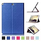 Case for Samsung Galaxy Tab A SM-P550 P551 P555 9.7 Inch Guard Sleeve Flip Tablet Cover Case (Blue)