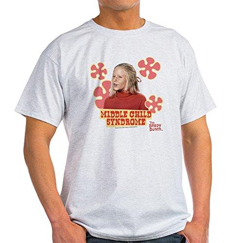 CafePress The Brady Bunch: Jan Brady 100% Cotton T-Shirt Ash Grey ()