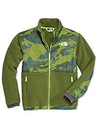 The North Face Denali Boys Jacket - Large/Terrarium Green Mesh Camo
