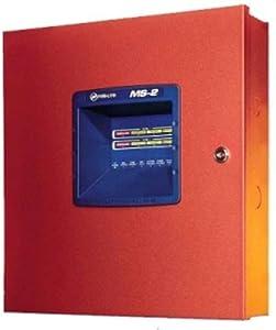 Honeywell Fire-Lite MS2L8 Fire-Lite Ms-2 2 Zone Control