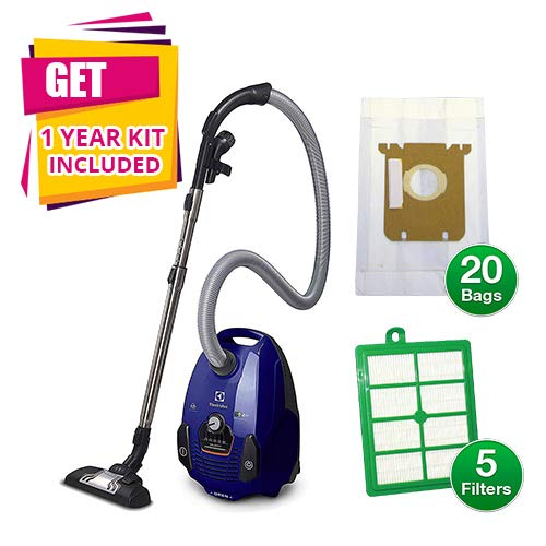 Electrolux Vacuums Hard Floor (Electrolux EL4012A Silent Performer Bagged Canister Vacuum with 3-in-1 Crevice Tool (Canister Vacuum w/Kit))