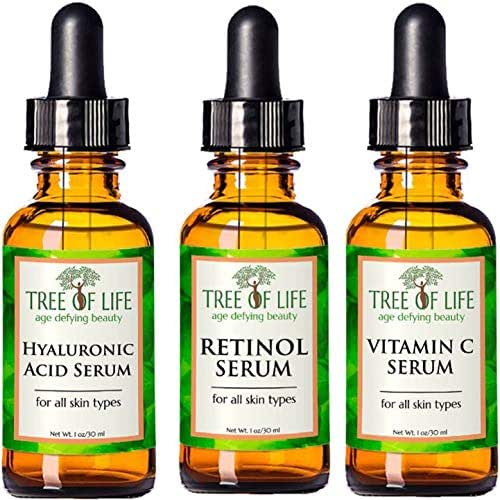 Anti Aging Serum 3-Pack - Face Serum Full Regimen