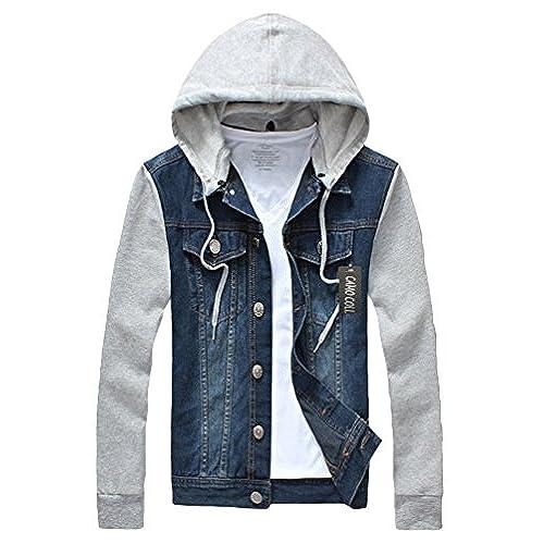 Jean Jacket Sweater Sleeves