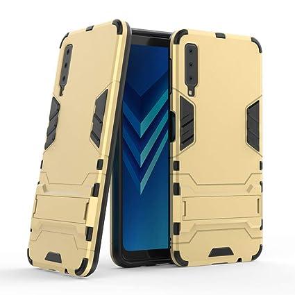 Galaxy A7 2018 Armor Case DWaybox 2 in 1 Hybrid Heavy Duty Armor Hard Back  Case 77d297d53cd