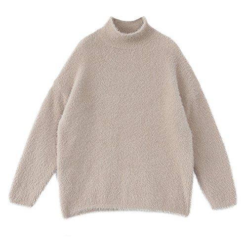 Semi col pull montant en laine HgfHTwq