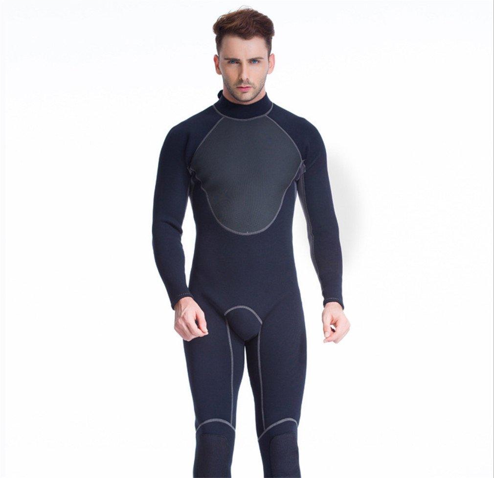 春夏新作モデル lucky-u Manウェットスーツ B07D273L67、ロングスリーブ水着ダイビングサーフィン Large、シュノーケリング水泳ビーチ海マリンスポーツ B07D273L67 Large, 八戸フィッシング:e64cfe17 --- svecha37.ru