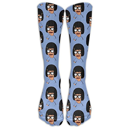 Cool Bobs Burger Fashion, Stylish, Comfortable, Soft Stockings Knee High Socks For Girls And Women, Easy To Clean