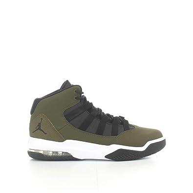 66ffa842efd96 Nike Jordan MAX Aura Mens Fashion-Sneakers AQ9084-300_9.5 - Olive  Canvas/Black-White-Black