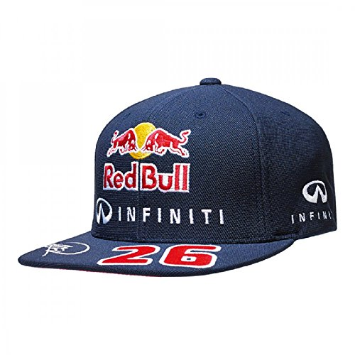 Red Bull F1 D. Kvyat Driver flat Cap Navy
