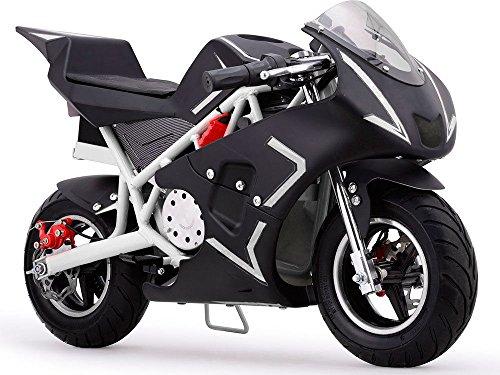 Pocket Bike Mini Motorcycle Gas 40CC Powered Ride On White B