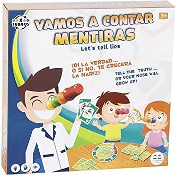 XTURNOS Vamos A Contar Mentiras Juego de Mesa: Amazon.es: Juguetes y juegos