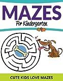 Mazes For Kindergarten: Cute Kids Love Mazes