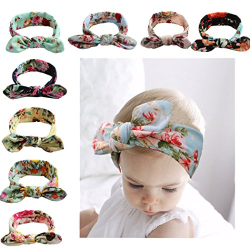 Baby Bohemian Headbands Turban Knotted Hairbands For Newborn oddler And Childrens