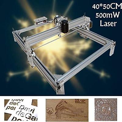 500MW Mini Laser Cutting Engraving Machine Printer Kit Desktop 40X50CM DIY New