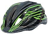Prowell K800 Child cycle helmet (Black/Green)