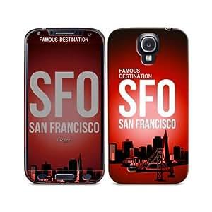 i-Paint - Carcasa para Galaxy S4, diseño de San Francisco