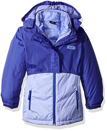 1 Winter Ski (Weatherproof 32 Degrees Big Girls' 3 in 1 System Ski Jacket, Purple/Lilac,)