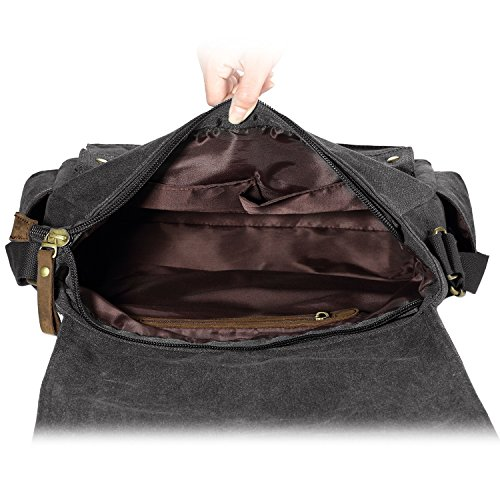 8728b6aa05 SMRITI 16 Inch Canvas Messenger Shoulder Bag Laptop Cross body - Import It  All