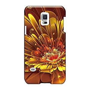 Great Hard Cell-phone Cases For Samsung Galaxy S5 Mini (fYk16861VpFJ) Support Personal Customs Lifelike Bubble Abstract Flowers Skin