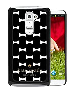 Unique And Beautiful Designed Kate Spade Cover Case For LG G2 Black Phone Case 22