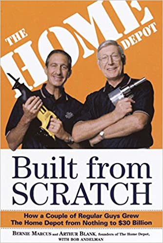 Image result for 'Built from Scratch' by Bernie Marcus and Arthur Blank