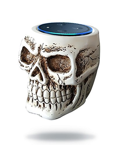 Price comparison product image BFF For Alexa- Skull Statue Crafted Guard Station For Amazon Echo Dot 2nd And 1st generation Speaker,Jam Classic Speaker