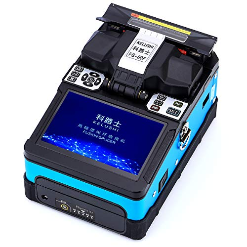 (FTTH Tools Kit Fiber Optic Fusion Splicing With Optical Fiber Cleaver Include Accessories Welding Fusion Splicer Fiber Optic Machine FS-60F)