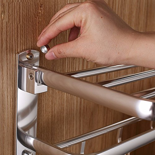 durable service KHSKX Aluminum Towel rack bathroom accessories bathroom Bathroom space suit metal Towel rack shelf