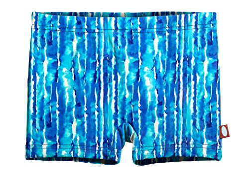 City Threads Girls' Swimming Suit Bottom Boy Short, Water Tie-Dye, 16 by City Threads (Image #9)