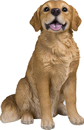 - Sitting Golden Retriever