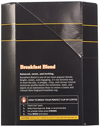 Green Mountain Coffee Breakfast Blend, Vue Cup Portion Pack for Keurig Vue Brewing Systems, 16 Count by Green Mountain Coffee Roasters (Image #6)