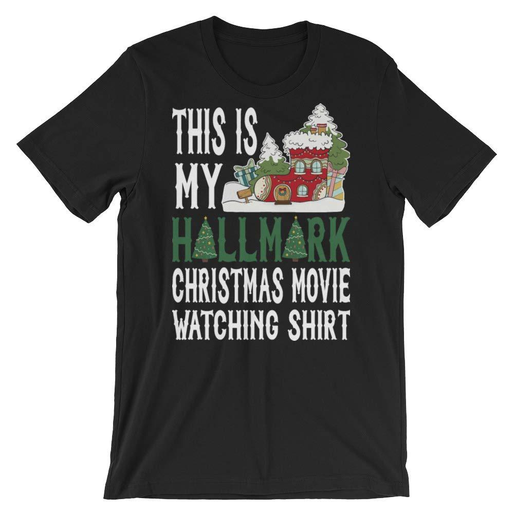 Hallmark Christmas Movie Watching Holiday Stay Home Watching Hallmark Movies Christmas Long Shirt