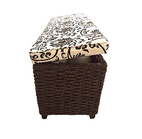 Badhocker mit wäschetruhe  Amazon.de: Büloo Sitzhocker Aufbewahrungshocker, Farbe braun auch als