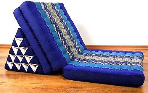 RM Design Kapok Coussin Triangulaire avec 1 Coussin en 5 Tapis de Yoga Thaimatte