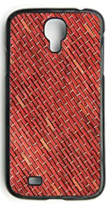 Red Brick Wall Pattern Hard Durable Cover Case for Samsung Galaxy S4 I9500