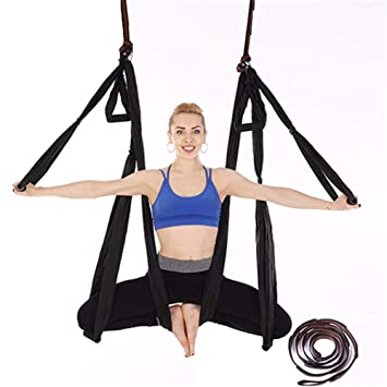 Znds Ultra Fuerte antigravedad Yoga Hamaca-Swing de Yoga ...
