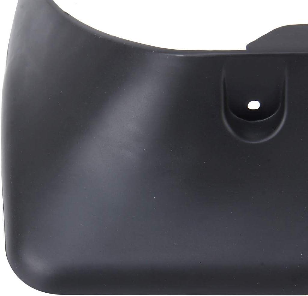 MyEstore Accessoires Ext/érieur Voiture Grand 4 PCS Voiture Automatique Semi-Rigide en PVC Splash Guard Fender Rabats Garde-Boue for 2009 Version Toyota RAV4-2.0