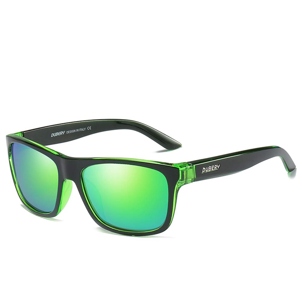 DUBERY Fashion Men Polarized Outdoor Sport Sunglasses Driving Summer Goggles (#9) by DUBERY