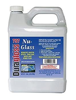 Duragloss 757 Automotive Glass Water Spot Remover - 1 Gallon 1