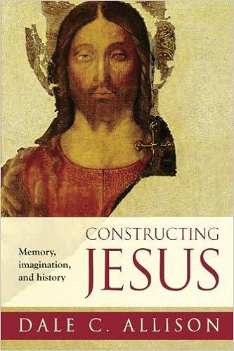 """Résultat de recherche d'images pour """"Constructing Jesus : Memory, Imagination and History"""""""