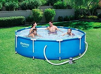 Runder Pool 305 x 76 + Motor Wasser Meer Strand Garten ...